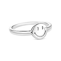 Simply Silver - Sterling silver emoji ring