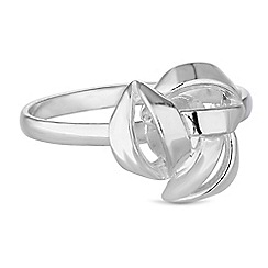 Simply Silver - Sterling silver knot rings