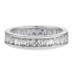 Simply Silver - Sterling silver eternity ring