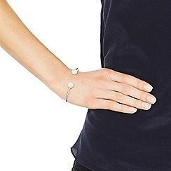 Simply Silver - Sterling silver pave crystal cuff