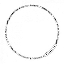 Simply Silver - Online exclusive sterling silver polished bar bangle
