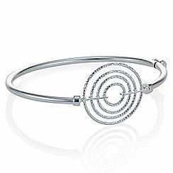 Simply Silver - Sterling silver multi circle bangle