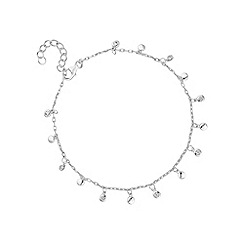 Simply Silver - Sterling silver charm cluster bracelet