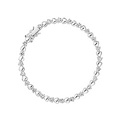 Simply Silver - Sterling silver heart and bracelet