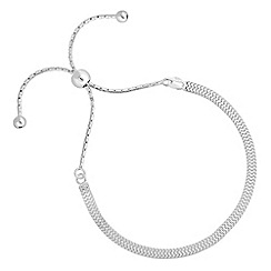 Simply Silver - Sterling silver toggle bracelet