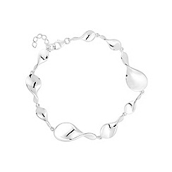 Simply Silver - Sterling silver twisted link bracelet