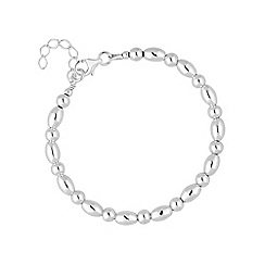 Simply Silver - Sterling silver beaded bracelet
