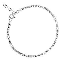 Simply Silver - Sterling silver woven bracelet