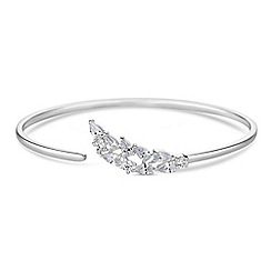 Simply Silver - Sterling silver waterfall bangle