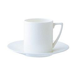 Jasper Conran at Wedgwood - White espresso saucer