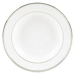 Vera Wang Wedgwood - White 'Grossgrain' pasta plate