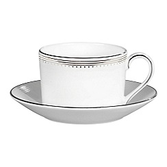 Vera Wang Wedgwood - White tea saucer