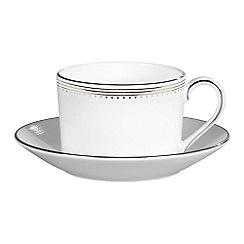Vera Wang Wedgwood - White tea saucer