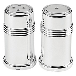 Wedgwood - Wedgewood silver plated 'Windsor' salt and pepper mills
