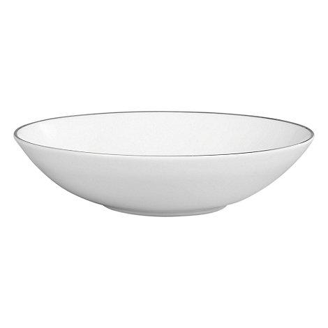 Jasper Conran at Wedgwood - Silver +Platinum+ soup bowl