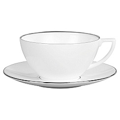 Jasper Conran at Wedgwood - Silver 'Platinum' tea saucer