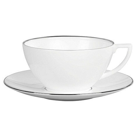 Jasper Conran at Wedgwood - Silver +Platinum+ tea saucer