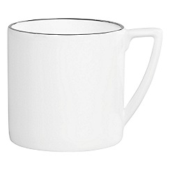 Jasper Conran at Wedgwood - Mini silver 'Platinum' mug