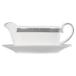 Vera Wang Wedgwood - White 'Lace' sauce boat