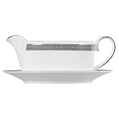 Vera Wang Wedgwood - White 'Lace' sauce boat stand