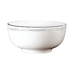 Vera Wang Wedgwood - White 'Grossgrain' serving bowl