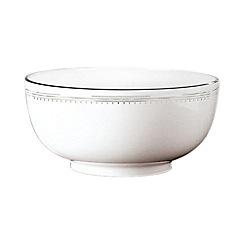 Vera Wang Wedgwood - White 'Grossgrain' serving bowl