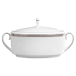 Vera Wang Wedgwood - White 'Lace' soup tureen