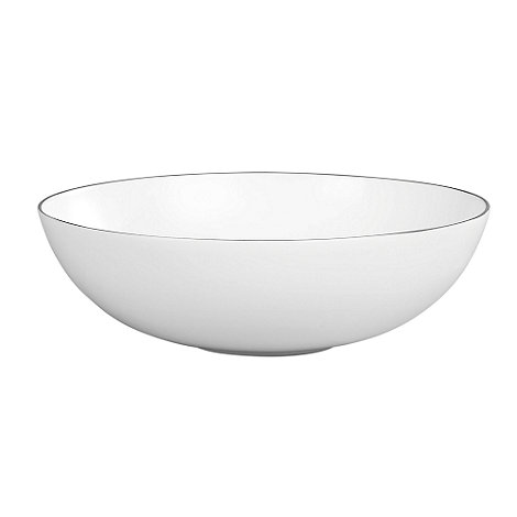 Jasper Conran at Wedgwood - White 'Platinum' serving bowl - 30cm