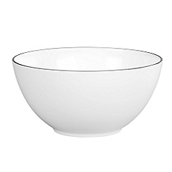 Jasper Conran at Wedgwood - White 'Platinum' bowl - 20cm