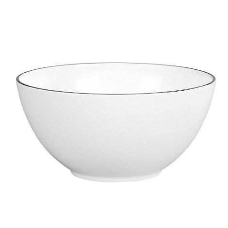 Jasper Conran at Wedgwood - White +Platinum+ bowl - 20cm