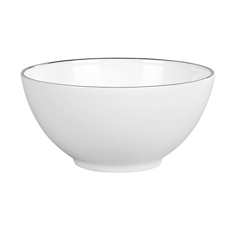Jasper Conran at Wedgwood - White +Platinum+ gift bowl - 14cm