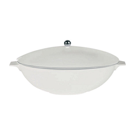 Jasper Conran at Wedgwood - White +Platinum+ soup tureen