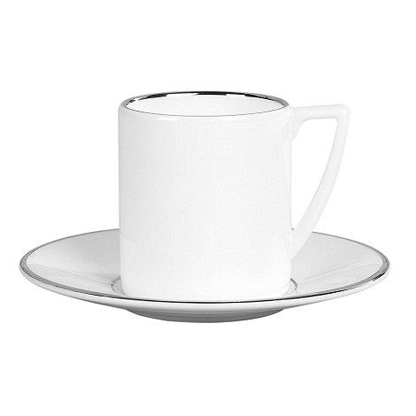 Jasper Conran at Wedgwood - White +Platinum+ espresso cup