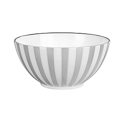 Jasper Conran at Wedgwood - Striped 'Platinum' gift bowl