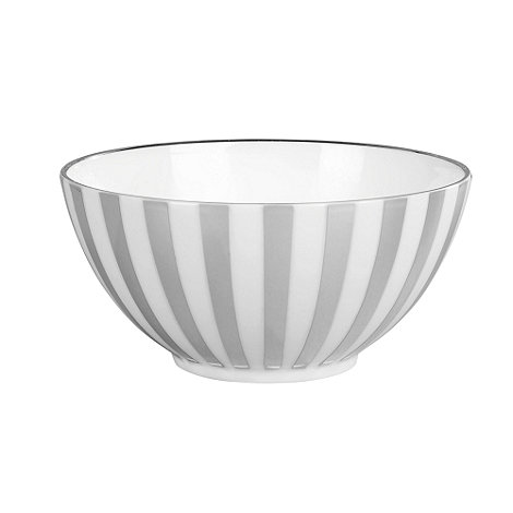 Jasper Conran at Wedgwood - Striped +Platinum+ gift bowl
