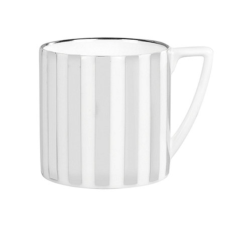 Jasper Conran at Wedgwood - Striped +Platinum+ mini mug