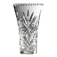 Royal Doulton Large 24% lead crystal 'Newbury' hollow sided vase