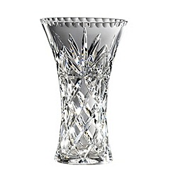 Royal Doulton - Small 24% lead crystal 'Newbury' hollow sided vase