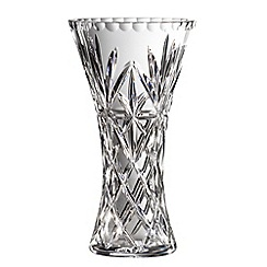 Royal Doulton - 24% lead crystal 'Newbury' flared vase