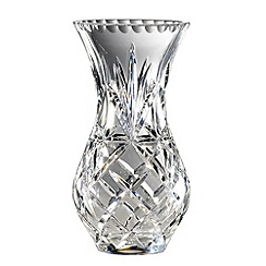 Royal Doulton - Small 24% lead crystal 'Newbury' urn vase