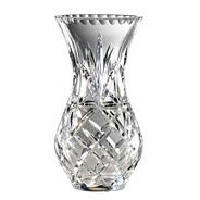 Royal Doulton Small 24% lead crystal 'Newbury' urn vase