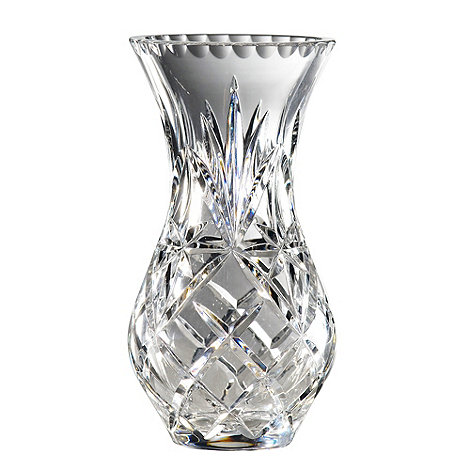 Royal Doulton - Small 24% lead crystal +Newbury+ urn vase