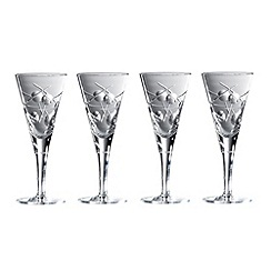 Royal Doulton - Box of four 'Lunar' 24% lead crystal goblets