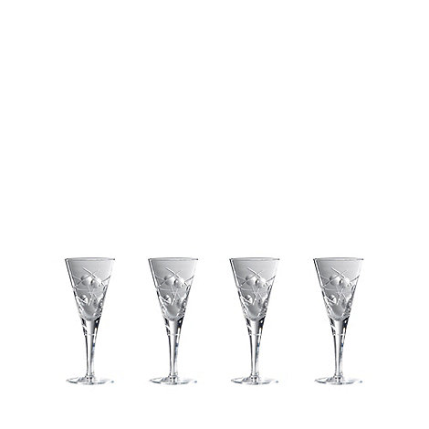 Royal Doulton - Box of four +Lunar+ 24% lead crystal small wine glasses