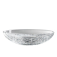 Royal Doulton - Crystal 'Dorchester' shallow bowl
