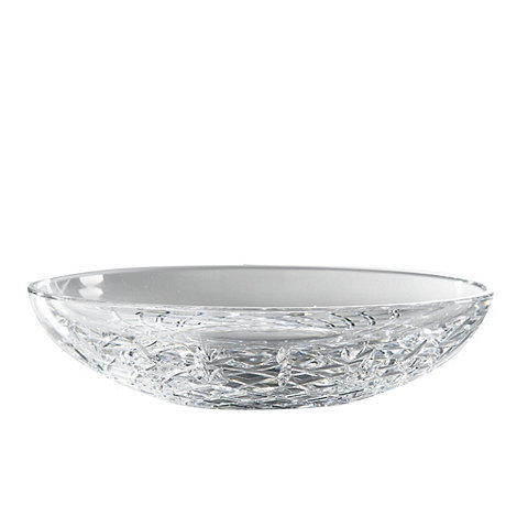 Royal Doulton - 24% lead crystal +Dorchester+ shallow bowl