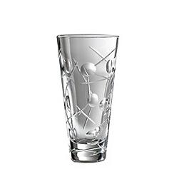 Royal Doulton - Medium 'Lunar' 24% lead crystal vase