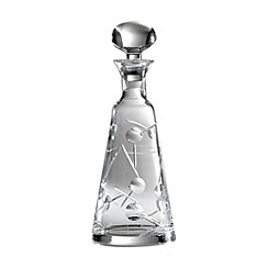 Royal Doulton - Lunar 24% lead crystal wine decanter