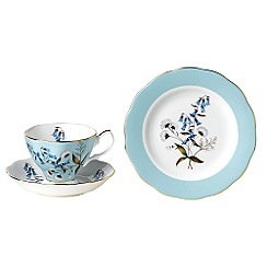Royal Albert - Light Blue three piece '100 Years of ' 1950 Festival tea set