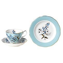 Royal Albert - Light Blue three piece '100 Years of ' 1950 Festival tea set